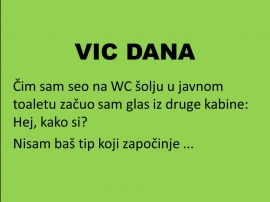 VIC  DANA: Javni  WC
